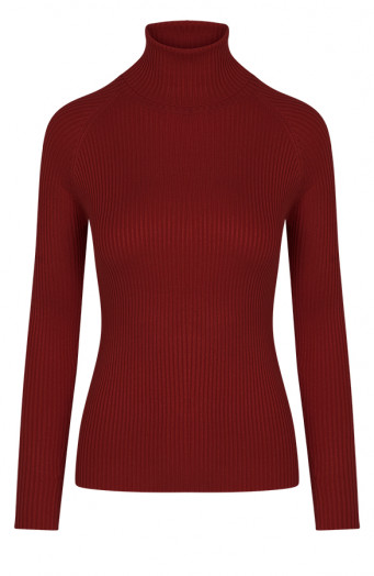 Annelot-Sweater-Bordeaux-1'