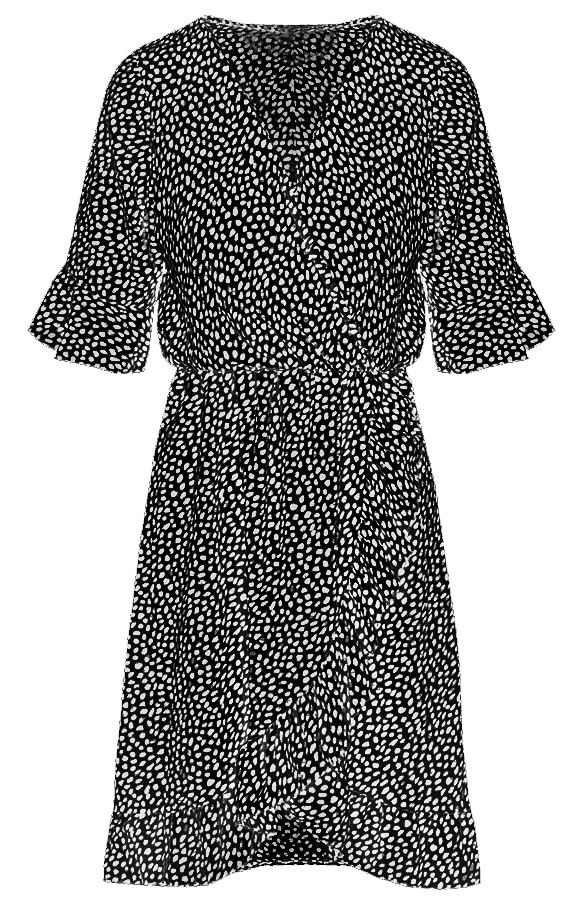 Ayla-Cheetah-Dress-Black