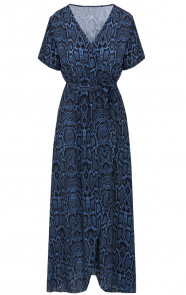 Chloe-Snake-Dress-Blue