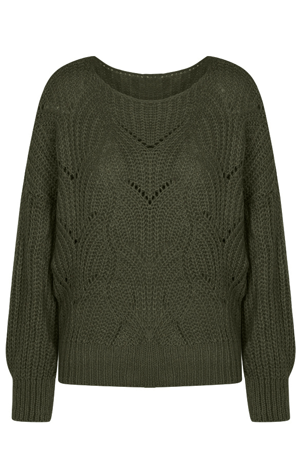 Yara-Sweater-Legergroen
