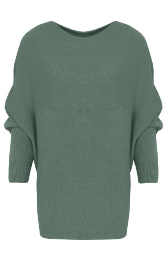 Debby-Sweater-Legergroen'