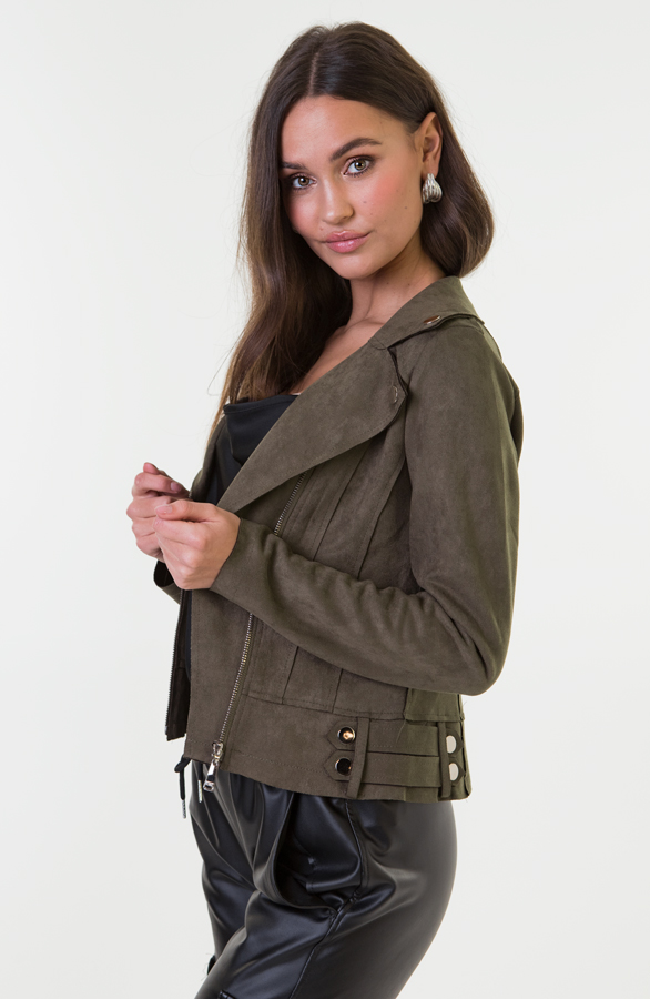 Jessie-Suede-Jacket-Groen-3