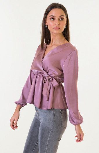 Blaire-Satin-Blouse-Dust-Roze-2'