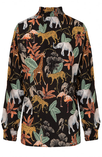 Jungle-Blouse-Dames'