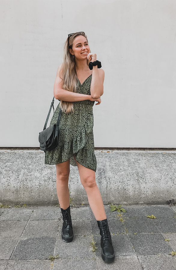 Evie-Dress-Khaki