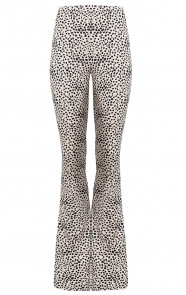 Janine-Flared-Broek-Cheetah-Creme