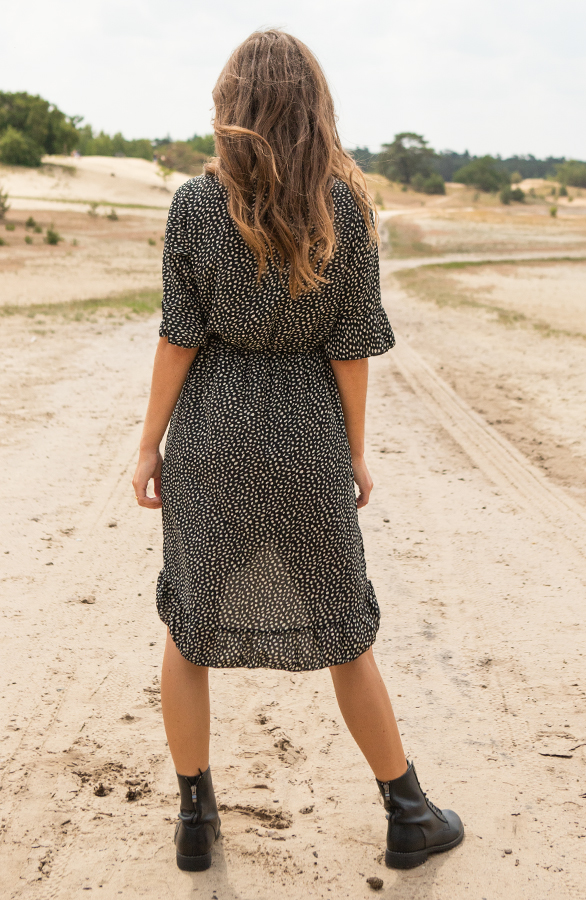 Ayla-Cheetah-Dress-Black-1