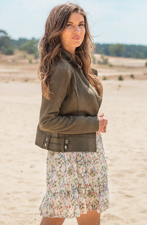 Jessie-Suede-Jacket-Groen-1
