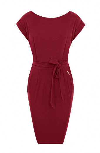 Noa-Dress-Bordeaux'