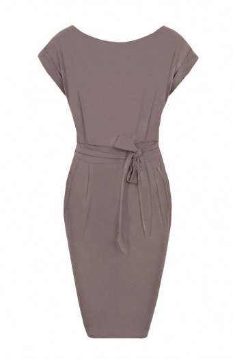 Noa-Dress-Taupe'