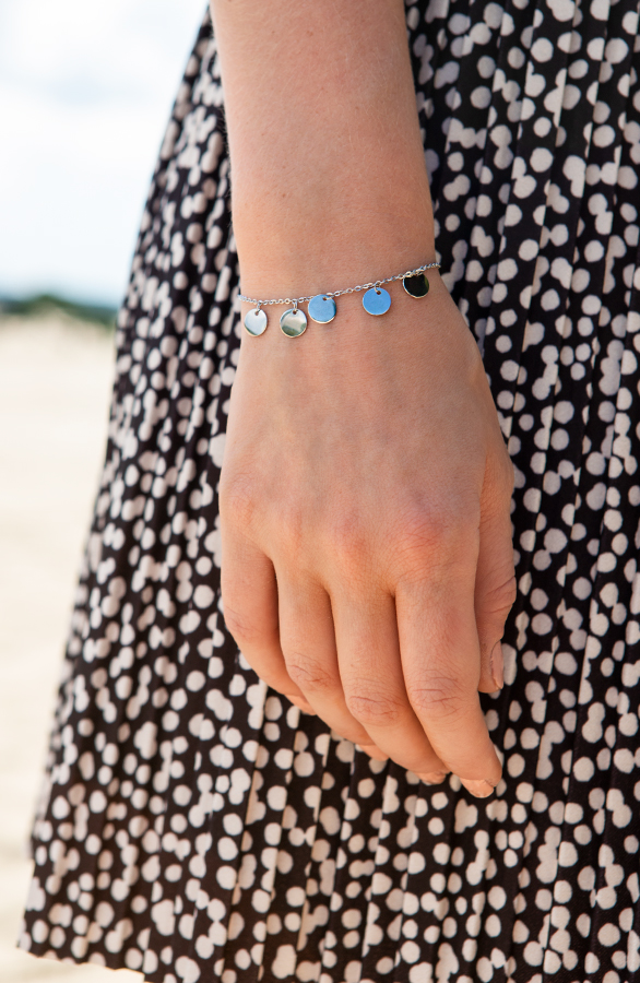 Coins-Armband-Mae-Zilver