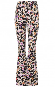Janine-Flared-Broek-Panter-Multicolor