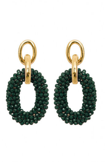 Bella-Oval-Earrings-Smaragdgroen'