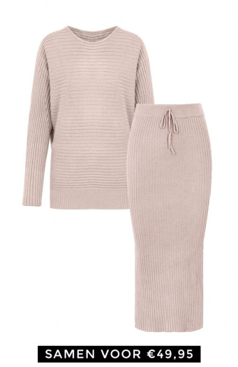 Maureen-Twinset-2-Piece-Ecru'