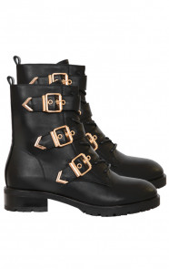 BUCKLE-BOOTS-SOOF-BLACK