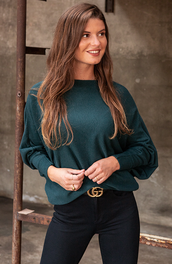 Debby-Sweater-Green-1