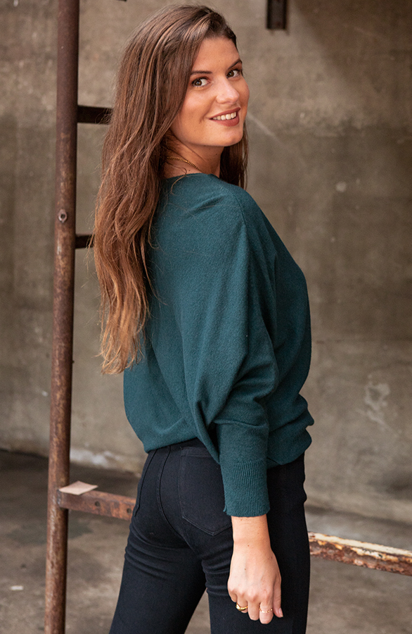 Debby-Sweater-Green-2