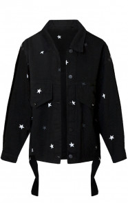 Tara-Star-Jacket-Zwart