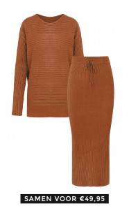 Maureen-Twinset-2-Piece-Cognac