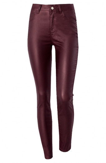 Coating-High-Waist-Elle-Bordeaux'