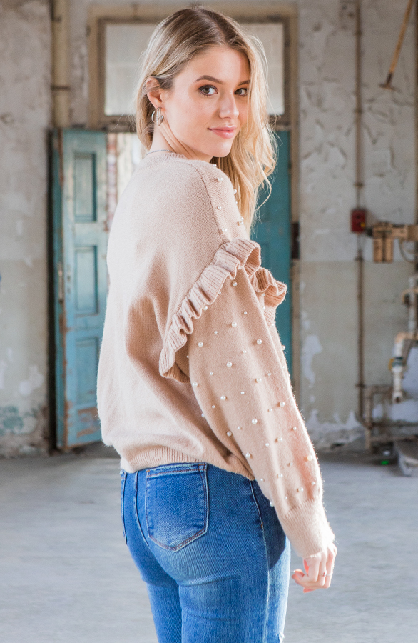 Ruches-Trui-Pearls-Yolet-Taupe-3