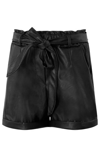 Shorts-Leather-Look-Nynke-Zwart'
