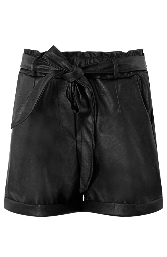 Shorts-Leather-Look-Nynke-Zwart