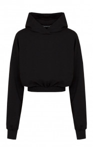Lounge-Sweater-Maan-Zwart