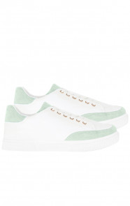 Trendy-Sneakers-Lin-Wit-MInt