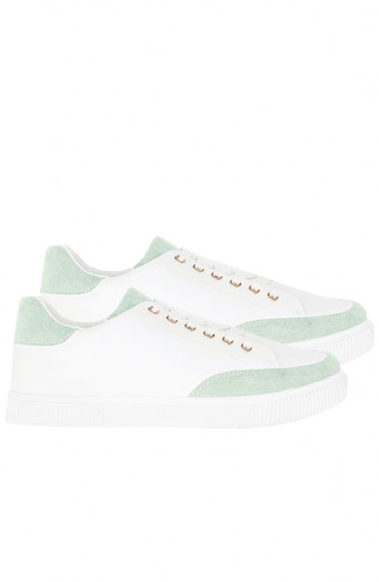 Trendy-Sneakers-Lin-Wit-MInt'