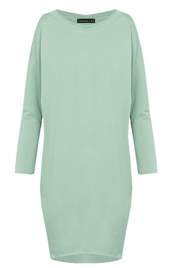 Oversized-Jersey-Tuniek-Ayla-Dust-Mint'