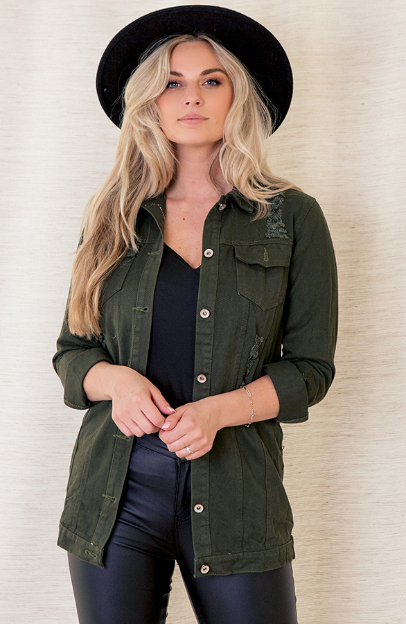 Sarah-Denim-Jacket-Army-2