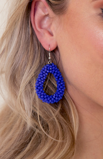 Bella-Oval-Earrings-Kobalt-2'
