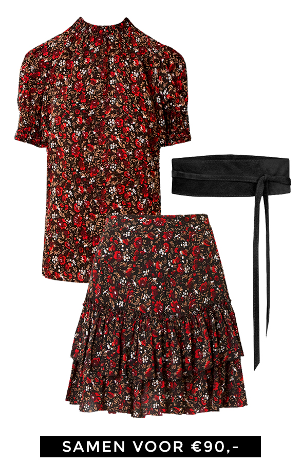 Deal-Complete-Outfit-Bloemen-Rood