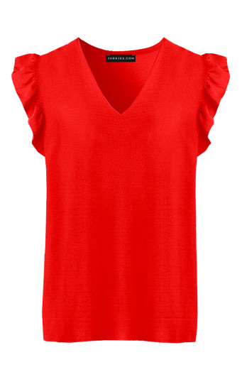 Ruches-Blouse-Audrina-Rood-1'