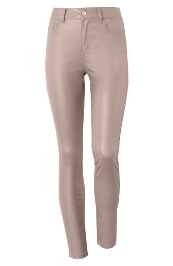 Elle-Coating-Jeans-Taupe'
