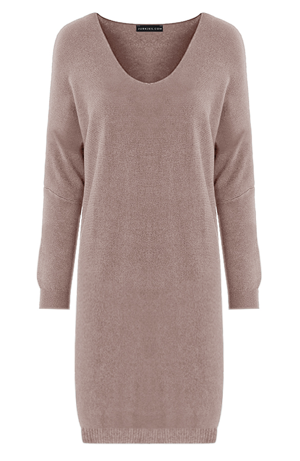 Oversized-Sweater-Dress-Rosanne-Taupe